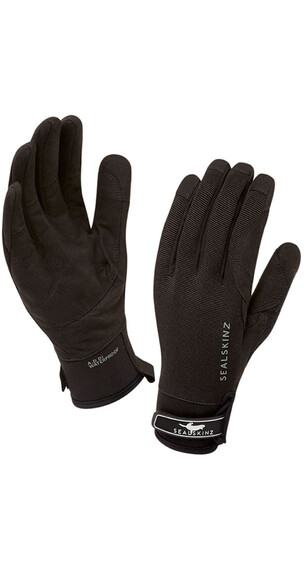 Sealskinz Dragon Eye Gloves Black/Charcoal